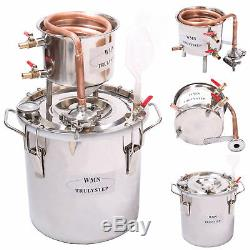10100L DIY Home Distiller Copper Moonshine Still Water Alcohol Whisky Brewing