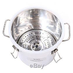 10-30L Moonshine Still Stainless Distiller Alcohol Whisky Essential Oil Water