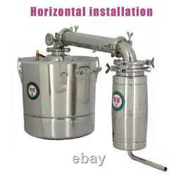 20L/30L Home Brew Water Alcohol Wine Distiller Stainless Steel Moonshine DIY New