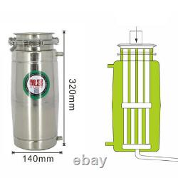 20L/30L Home Brew Water Alcohol Wine Distiller Stainless Steel Moonshine Still