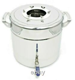 20L/5Gallon Home Alcohol distiller Moonshine machine made of stainless steel col