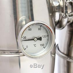 20L Alcohol Distiller Brewing Home Moonshine Still Stainless Wine Boiler
