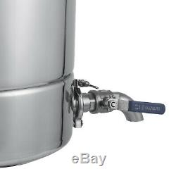 20L Stainless Alcohol Alembic Distiller Moonshine Ethanol Still Wine Making Home