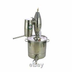 30L Home Distiller Brew Kit Moonshine Still Spirits Wine Alcohol Oil Pure Water