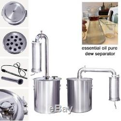 30-150L Water Distiller Alcohol Oil Spirits Stainless Moonshine Still Brew Kits