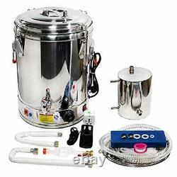 36L Automatic Alcohol Distiller Moonshine Still with Heating and Temperature