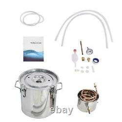 3 5 8 Gal Moonshine Still Distiller Alcohol Whisky Essential Oil Water Stainless