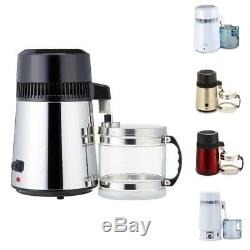 4L Alcohol/Wine Water Distiller Oil Purification Filter Moonshine Still Home/Lab
