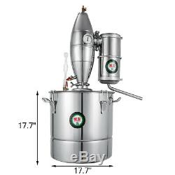 70L Home Brew Water Alcohol Wine Distiller Stainless Copper Moonshine Still