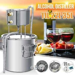 9GAL 35L Efficient Distiller Alambic Moonshine Alcohol Still Stainless Copper