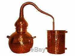 Alembic Still, Copper Moonshine Distiller, Floral Waters, Hydrosol, Alcohol 7