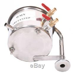 Home Distiller Moonshine Still Water Alcohol Oil Wine Brewing Stainless Steel