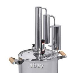 Moonshine still 12/20L Alcohol Distiller Increased Purification All Stove types