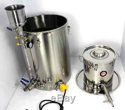New 85L Professional Alcohol Stainless Distiller Moonshine Wine Making Boiler A