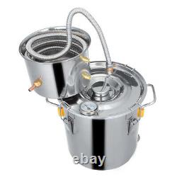 Stainless Other Water Alcohol Distiller Moonshine Home DIY Brewing Kit